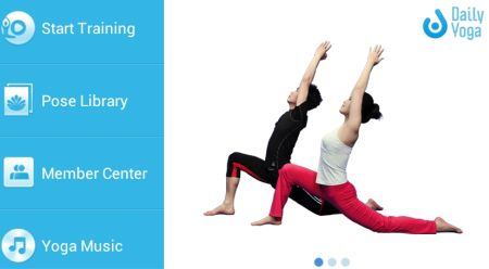 Android App: Daily Yoga con 50+ Video Lezioni e 400+ Asana