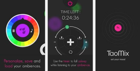 Android App: Musica Ambiente & Relax - Mixer minimalista