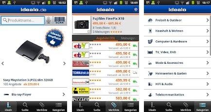 Android App: Confronta Prezzi, Prodotti e Negozi Online