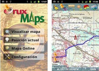 Android App: GPS Cartografico portatile con OruxMaps