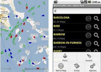 Android App: Identifica e localizza in tempo reale le Navi