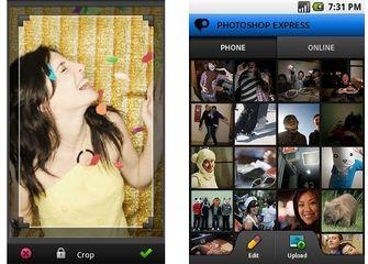 Android App Photoshop Express - Edita e Condividi Foto