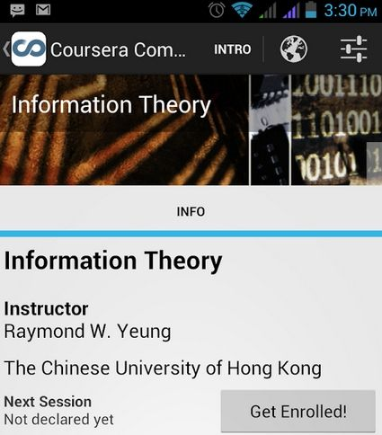 Android App: Video Corsi Coursera x SmartPhone / Tablet