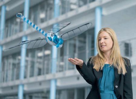 BionicOpter - Robot Libellula = Elicottero + Aereo + Aliante