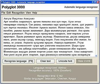 Come riconoscere automaticamente 474 Lingue e Dialetti