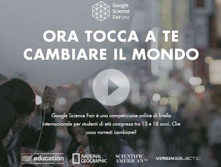 Concorso Scientifico Google 2014 per Studenti 13-18 anni