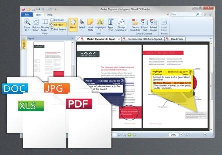 creare modificare file pdf gratis reader 1 Crea e modifica file PDF gratis con Nitro PDF Reader. Video.