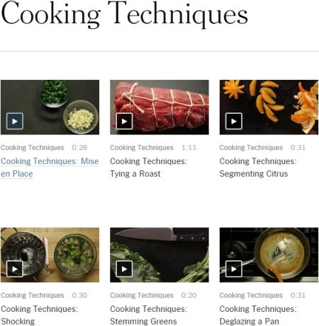 Cucina: 53 Video per imparare Tecniche e Trucchi dai Top Chef