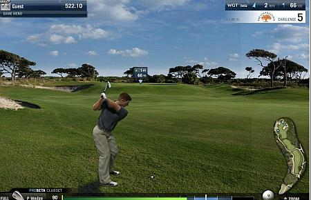 Gioco del Golf online Multiplayer con Grafica Flash 3D