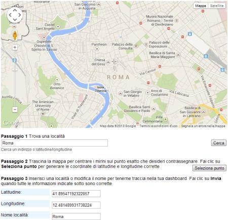 Google Maps: Servizio notifica nuove Immagini Satellitari