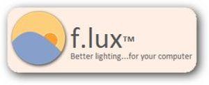 Luminosità Schermi LCD piú naturale con F.lux