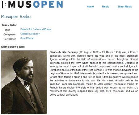 Musopen - Libreria Musicale online gratuita e scaricabile