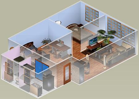 Progetta e arreda in 3d appartamenti e ambienti di lavoro for Arredare 3d