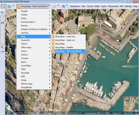 SAS Planet: Scarica tutte le Mappe Web per uso offline