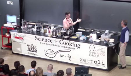 Scienza in Cucina: 39 Video lezioni online Università di Harvard