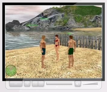 SeaGame - Videogioco Online Interattivo 3D Multigiocatorel