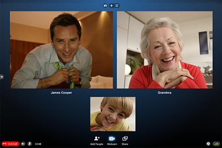 Skype 5 Beta - Nuova funzione Video-conferenza multipla