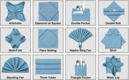 Tovaglioli Artistici: Impara a piegarli con istruzioni animate