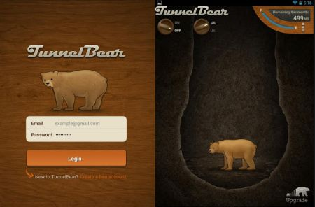 VPN USA + UK gratis x PC, Mac e Android con TunnelBear