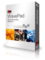 WavePad Audio Mixer per registrare e modificare Musica